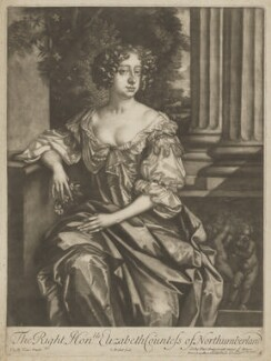 Elizabeth Montagu (née Wriothesley), Countess of Montagu when Countess of Northumberland, by Isaac Beckett, published by  Alexander Browne, after  Sir Peter Lely - NPG D38881