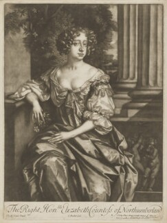 Elizabeth Montagu (née Wriothesley), Countess of Montagu when Countess of Northumberland, by Isaac Beckett, published by  Alexander Browne, after  Sir Peter Lely - NPG D38882