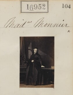 Sophie Monnier (née Chartron), by Camille Silvy - NPG Ax64833