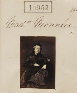 Sophie Monnier (née Chartron), by Camille Silvy - NPG Ax64834