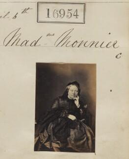 Sophie Monnier (née Chartron), by Camille Silvy - NPG Ax64835