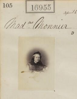 Sophie Monnier (née Chartron), by Camille Silvy - NPG Ax64836