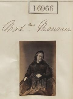 Sophie Monnier (née Chartron), by Camille Silvy - NPG Ax64847
