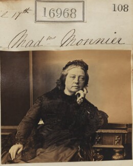 Sophie Monnier (née Chartron), by Camille Silvy - NPG Ax64849