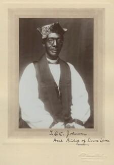 Thomas S.C. Johnson, by Lisk Carew Brothers - NPG x134176