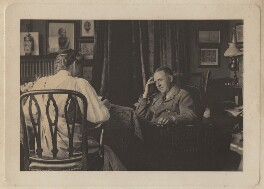 Winifred Tolton; Edward Phillips Oppenheim, by Olive Edis, and  Katharine Legat (née Edis) - NPG x134180