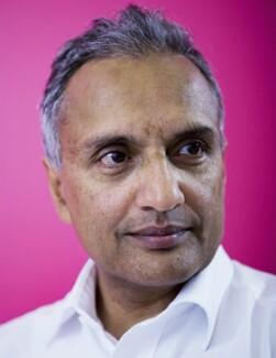 Sunand Prasad, by David Vintiner - NPG x134184