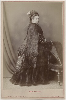 (Johanna) Therese Carolina Tietjens (Titiens), by London Stereoscopic & Photographic Company - NPG Ax5573