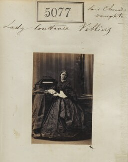 Constance (née Villiers), Countess of Derby, by Camille Silvy - NPG Ax55082