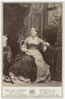Mrs De Beeker, by William Notman - NPG x134189
