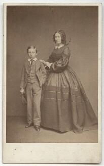 John Henry Wellington Graham Loftus, 4th Marquess of Ely; Jane Loftus (née Hope-Vere), Marchioness of Ely, by John & Charles Watkins, published by  Mason & Co (Robert Hindry Mason) - NPG x134191