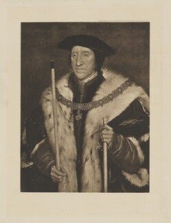 Thomas Howard, 3rd Duke of Norfolk, published by Franz Hanfstaengl, after  Hans Holbein the Younger - NPG D38988