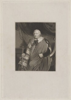 Charles Howard, 11th Duke of Norfolk, after John Hoppner - NPG D38991
