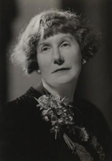 Marjorie Bowen (Mrs Gabrielle Margaret Vere Long), by Howard Coster - NPG x3428