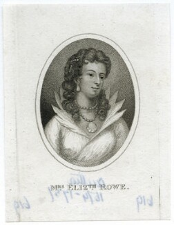 fictitious portrait of Elizabeth Rowe (née Singer), by Unknown artist - NPG D39269