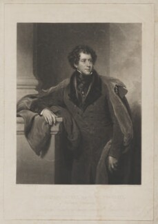 Constantine Henry Phipps, 1st Marquess of Normanby when Earl of Mulgrave, by Charles Turner, published by  Colnaghi & Co, after  Henry Perronet Briggs - NPG D38997