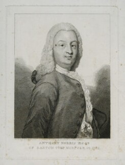 Antony Norris, by William Camden Edwards, after  Thomas Bardwell, 1786 or after - NPG D38764 - © National Portrait Gallery, London