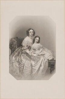 Hon. Lalagé Letitia Caroline Bankes (née Vivian), after Marie Françoise Catherine Doetter ('Fanny') Corbaux - NPG D39260