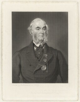 Sir Francis Grant, by George Thomas Doo, after  Sir Francis Grant - NPG D38907
