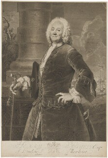 Henry Voguell, by Georg Friedrich Schmidt, after  Antoine Pesne - NPG D39262
