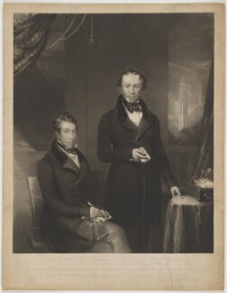 Thomas Spring Rice, 1st Baron Monteagle of Brandon, by Charles Edward Wagstaff, published by and after  Thomas Henry Gregg - NPG D38917