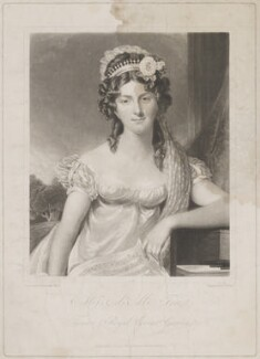Anna Maria Tree, by and published by Charles Turner, after  George Francis Joseph - NPG D39279