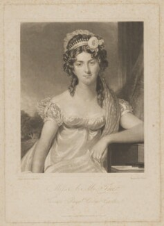 Anna Maria Tree, by and published by Charles Turner, after  George Francis Joseph - NPG D39280