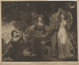 'A Sacrifice to Hymen', by Thomas Watson, published by  James Birchall, after  Sir Joshua Reynolds, published 1 March 1784 (1773) - NPG D38918 - © National Portrait Gallery, London