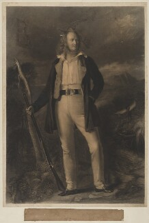Christopher North in his Sporting Jacket (John Wilson), by Charles Edward Wagstaff, published by  William Blackwood & Sons, and published by  Sir Francis Graham Moon, 1st Bt, after  Thomas Duncan - NPG D38769