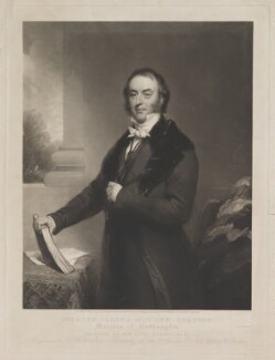 Spencer Joshua Alwyne Compton, 2nd Marquess of Northampton, by and published by William Walker, after  Thomas Phillips, and after  Henry Wyndham Phillips - NPG D38772