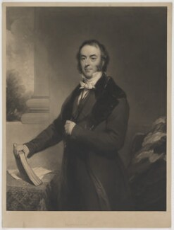 Spencer Joshua Alwyne Compton, 2nd Marquess of Northampton, by and published by William Walker, after  Thomas Phillips, and after  Henry Wyndham Phillips - NPG D38775