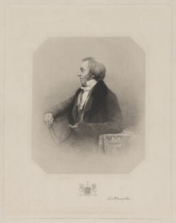 Spencer Joshua Alwyne Compton, 2nd Marquess of Northampton, by Charles Cook, printed by  McQueen (Macqueen), sold by  Ackermann & Co, and sold by  Abel & Son, published by and after  Antoine Claudet - NPG D38776