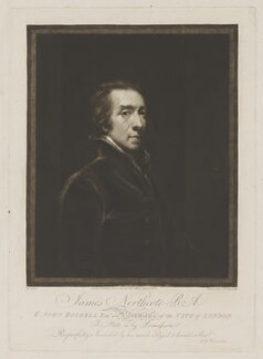 James Northcote, by Samuel William Reynolds, published by  John Jeffryes, after  James Northcote - NPG D38779