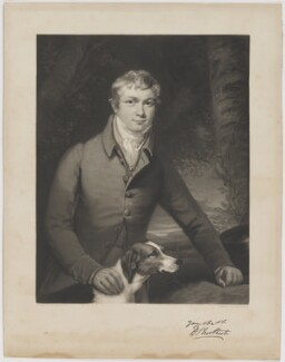 Henry Stafford Northcote, by Samuel Bellin, after  James Northcote - NPG D38780