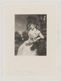 Mary Elizabeth Montresor when Lady Sondes, by Thomas Lewis Atkinson, after  Sir Joshua Reynolds - NPG D38923