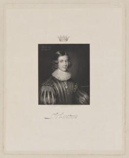 James Graham, 1st Marquess of Montrose, by Robert Charles Bell, after  George Jamesone - NPG D38925