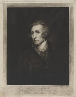 James Northcote, by and published by George Dawe, after  James Northcote - NPG D38783