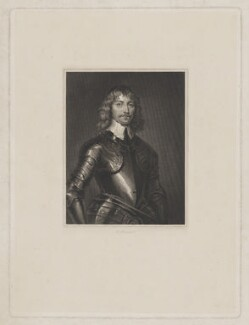 James Graham, 1st Marquess of Montrose, by John Henry Robinson, after  William Dobson - NPG D38927