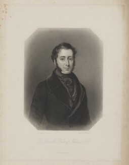 James Graham, 4th Duke of Montrose, by W. Joseph Edwards, published by  George Virtue, after  Sir William Charles Ross - NPG D38928