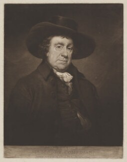 John Moody, by and published by Thomas Hardy - NPG D38929