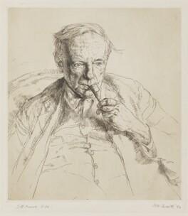 G.E. Moore, by Hubert Andrew Freeth - NPG D38933