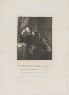 Henry Percy, 9th Earl of Northumberland, by John Samuel Agar, published by  Lackington, Hughes, Harding, Mavor & Jones, and published by  Longman, Hurst, Rees, Orme & Brown, after  Robert William Satchwell, after  Sir Anthony van Dyck - NPG D38792