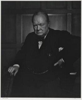 Winston Churchill, by Yousuf Karsh - NPG P1368