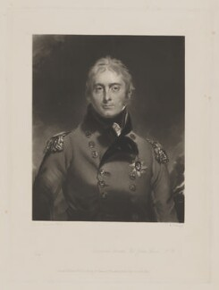 Sir John Moore, by William Oakley Burgess, published by  Henry Graves & Co, after  Sir Thomas Lawrence, published 20 December 1844 (circa 1805) - NPG D38936 - © National Portrait Gallery, London
