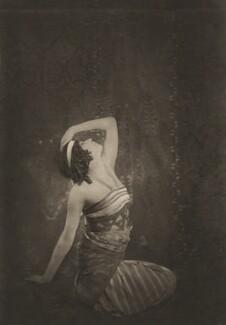 Sophie Fedorova as Ta-Hor in 'Cleopatra', by E.O. Hoppé - NPG x134206