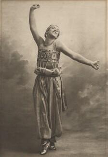 Vaslav Nijinsky in 'Shéhérazade', by (Auguste) Bert - NPG x134207