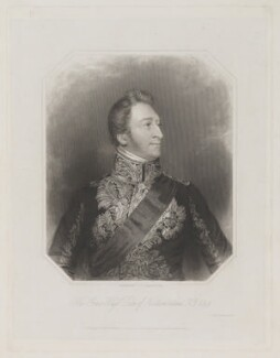 Hugh Percy, 3rd Duke of Northumberland, by William Holl Sr, or by  William Holl Jr, printed by  Wilkinson & Dawe, published by  R. Ryley, published by  James Fraser, published by  Sir Francis Graham Moon, 1st Bt, after  George Raphael Ward - NPG D39306