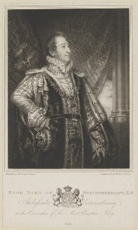 Hugh Percy, 3rd Duke of Northumberland, by Robert Graves, after  Christina Robertson (née Saunders) - NPG D39308