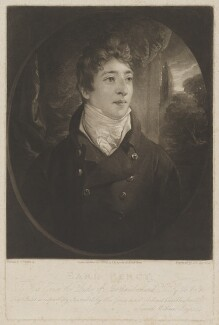 Hugh Percy, 3rd Duke of Northumberland, by and published by Samuel William Reynolds, after  Thomas Phillips, published 1 October 1806 - NPG D39310 - © National Portrait Gallery, London