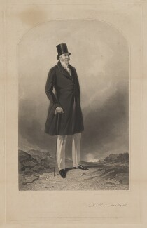 Hugh Percy, 3rd Duke of Northumberland, by Samuel William Reynolds Jr, printed by  Brooker & Harrison, published by  Thomas Agnew, and published by  Ackermann & Co, and published by  Anaglyphic Company, after  Richard Ansdell - NPG D39313